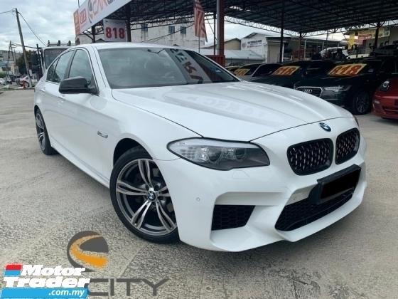 2013 BMW 5 SERIES 520I 8 SPEED NEW FACELIFT M-SPORT FULL SPEC ORIGINAL PAINT LOW MILAGE