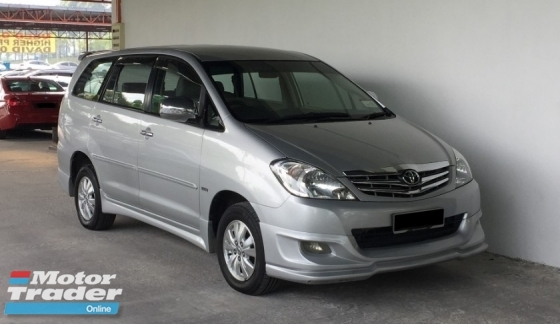 2011 TOYOTA INNOVA 2.0 G (A) 7-Seater Superb Condition