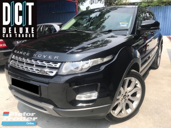 2013 LAND ROVER EVOQUE  RANGE ROVER EVOQUE 2.0 SI4 DYNAMIC SUV FULL SEVICE RECORD LOCAL SPEC
