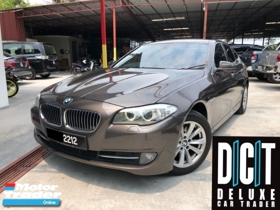 2014 BMW 5 SERIES 520D NICE NUMBER LOCAL SPEC GPS NAVI ORIGINAL PAINT FULL SERVISE RECORD ON BMW GOOD CONDITION