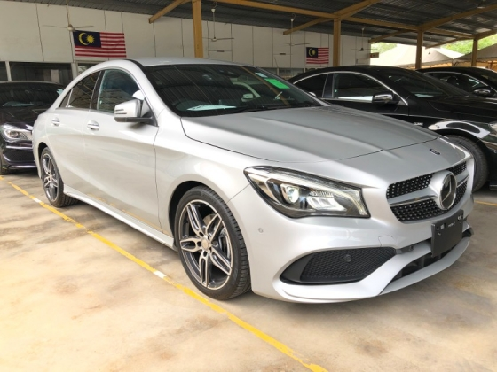 2017 MERCEDES-BENZ CLA CLA200 CLA180 AMG Edition 7G-DCT Turbocharged NEW FACELIFT Distronic Plus Memory Bucket Seat Multi Function Paddle Shift Steering Intelligent LED Light Smart Entry Push Start Button Reverse Camera Unreg
