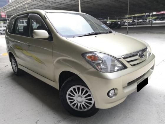 2005 TOYOTA AVANZA Toyota Avanza 1.3 MT DOUBLE BLOWER TIPTOP CONDITION
