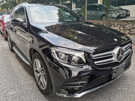 2016 MERCEDES-BENZ GLC 250 AMG 4MATIC