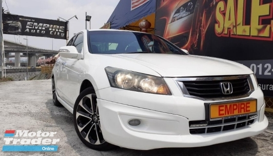 2011 HONDA ACCORD EXECUTIVE 2.0 L (A) VTI-L FACELIFT 4 CYLINDER 16 VALVE SOHC I-VETC !!  5 SPEED AUTOMATIC TRANSMISSION !! 154H/P 189NM !!  MILEAGE DONE 94, 713 KM !! AVERAGE USAGE PER YEAR 9, 664 KM ONLY !!   MODULO FULL BODYKIT / CRUISE CONTROL / FRONT / REVERSE CAMERA /