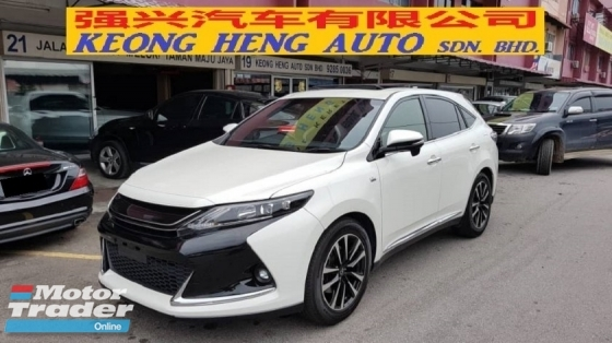 2016 TOYOTA HARRIER 2.0 GS MODEL (A) REG 2018, JAPAN SPEC, ONE CAREFUL OWNER, ORIGINAL GS MODEL, LOW MILEAGE DONE 43K KM, 100% ACCIDENT FREE, 19