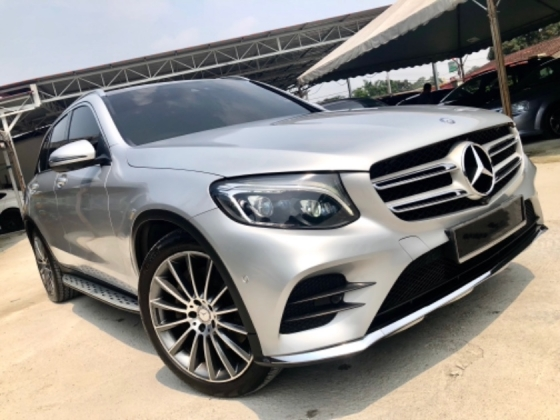 2018 MERCEDES-BENZ GLC 250 2.0 AMG 4MATIC (A) LOW MILEGE UNDER WARRANTY HSS