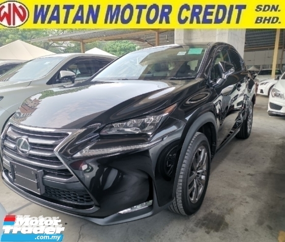 2014 LEXUS NX 200t VL Unregister 1 YEAR WARRANTY