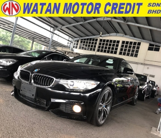2015 BMW 4 SERIES 420I M SPORT JAPAN UPGRADED BRAKING SYSTEM 2015 UNREG LIKE NEW FREE GMR