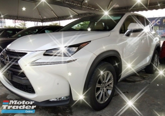 2016 LEXUS NX 200T 2.0TURBO ON THE ROAD~PRICE RM228,888 2.5%interst 3year warranty