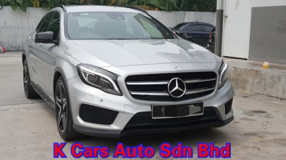 2017 MERCEDES-BENZ GLA 250 2.0 (A) AMG 4-Matic CBU 57k Km Mileage Full Service By Mercedes Balakong Warranty Until 2020 Worth Buy