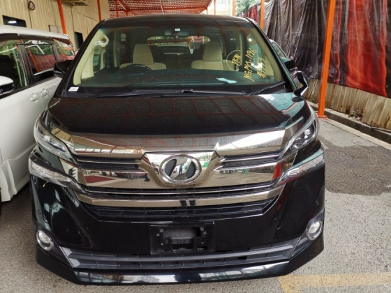 2015 TOYOTA VELLFIRE Toyota Vellfire 2.5 X with 8 seater