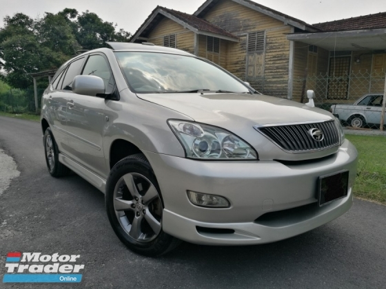 2005 TOYOTA HARRIER 2005 Toyota HARRIER 2.4 VVT-I (A) PREMIUM SPEC