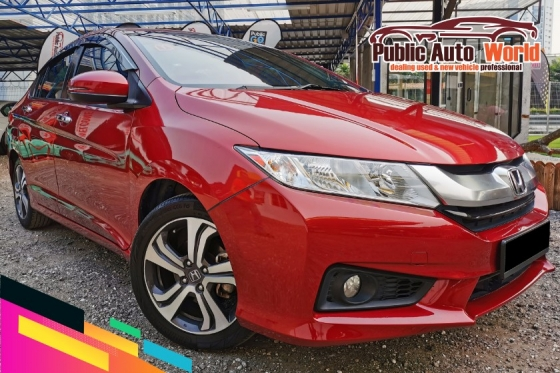2015 HONDA CITY Honda CITY 1.5 V SPEC P/START F/SERVICE WARRANTY