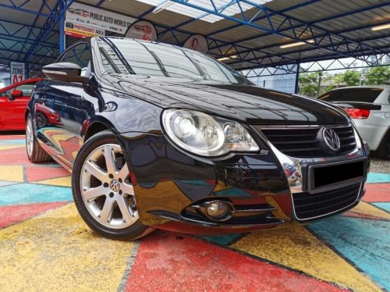 2010 VOLKSWAGEN EOS Volkswagen EOS 2.0 FSi CONVERTIBLE PERFECT WARRNTY