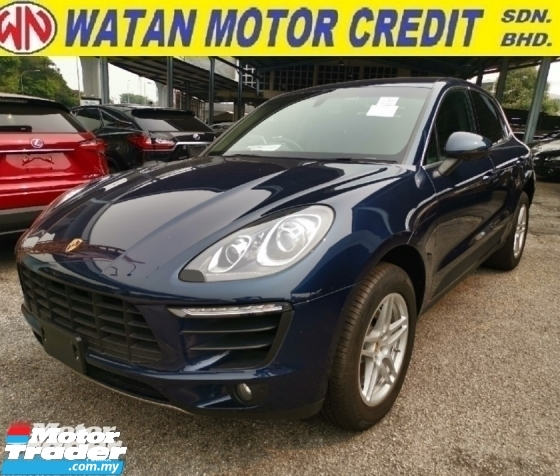 2015 PORSCHE MACAN S 3.0 JAPAN SPEC UNREGISTER