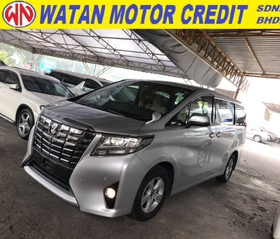 2015 TOYOTA ALPHARD 2.5 X SPEC 2WD 2 POWER DOORS POWER BOOT SURROUNDING 4 CAMERA 2015 JAPAN UNREG