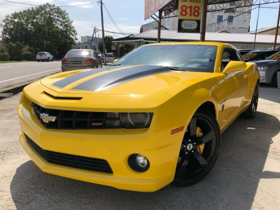 2010 CHEVROLET CAMARO SS RS TRANSFORMERS LIMITED EDITION LOW MILEAGE TIPTOP SPORT CAR
