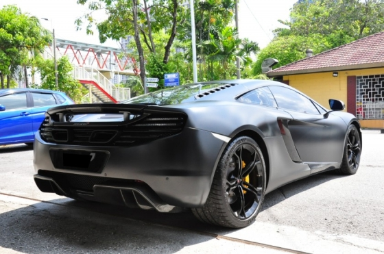 2012 MCLAREN MP4-12C Carbon Package Duty Paid