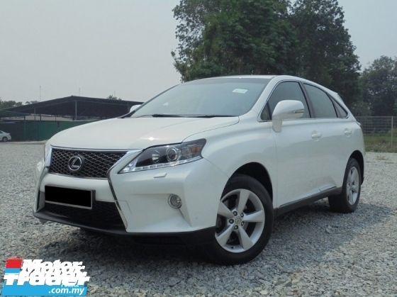 2009 LEXUS RX350  3.5 V6 Keyless PushStart Sunroof Powerboot Facelift LikeNEW