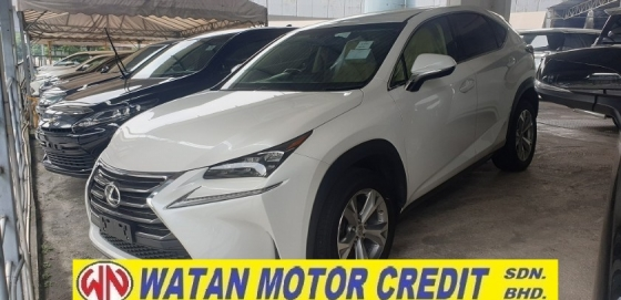 2015 LEXUS NX NX200T LUXURY NO HIDDEN CHARGES