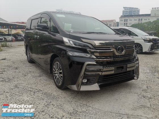 2015 TOYOTA VELLFIRE 2.5 ZG PRE CRASH/ 2POWER DOOR/POWER BOOT UNREG