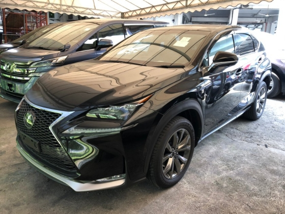 2016 LEXUS NX NX200 NX200t F Sport 2.0 Turbocharged Panoramic Roof Pre-Crash Touch Pad Interface Drive Select Intelligent LED Multi Function Paddle Shift Steering Smart Entry Zone Climate Control Bluetooth Connectivity Unreg