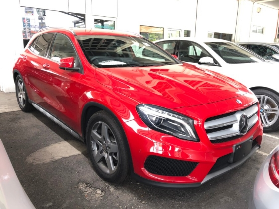2016 MERCEDES-BENZ GLA GLA200 GLA180 AMG Edition Turbocharged 7G-DCT 2 Memory Seat Smart Entry Push Start Button Paddle Shift Steering Automatic Power Boot Intelligent LED Pre Crash Bluetooth Connectivity Unreg