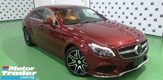2015 MERCEDES-BENZ CLS-CLASS 2015 MERCEDES BENZ CLS 400 3.0 V6 AMG FACELIFT JAPAN SPEC CAR SELLING PRICE ONLY RM 318000.00 NEGO