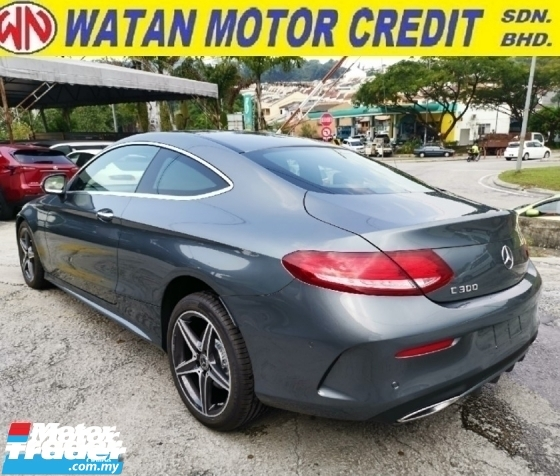 2018 MERCEDES-BENZ C-CLASS 300 COUPE AMG LINE UNREGISTER 1 YEAR WARRANTY