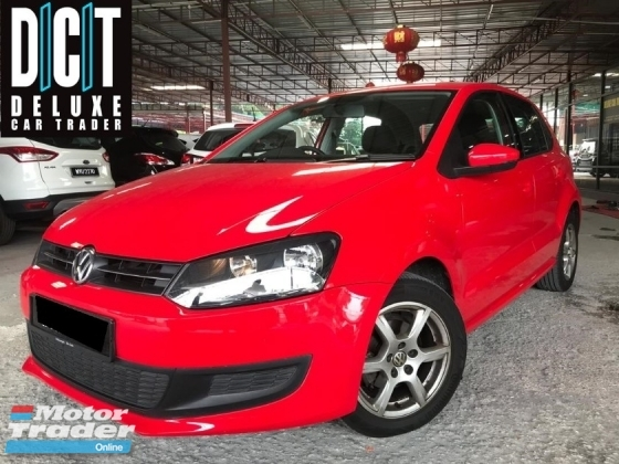 2013 VOLKSWAGEN POLO 1.2 TSI 1 LADY OWNER ORI PAINT FULL SERVISE RECORD SUPER LOW MILAGE 60KM ORIGINAL