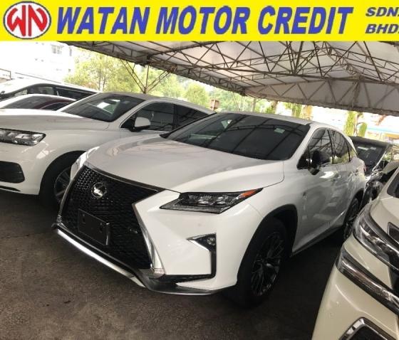 2017 LEXUS RX RX200 RX200T FSORT F SPORT 2017 UNREG JAPAN LIKE NEW CAR FULL SPEC