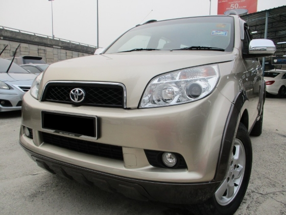 2010 TOYOTA RUSH 1.5S (AT) Facelift YearEndSales