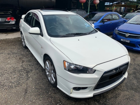 2014 MITSUBISHI LANCER GT E SUNROOF ENHANCE  EDITION  ( TRUE YEAR)