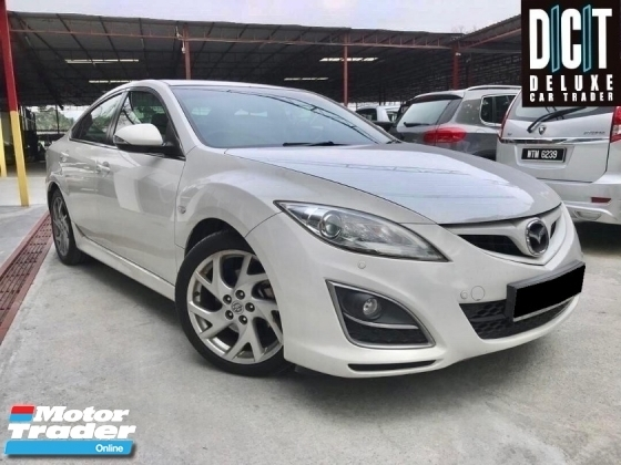 2012 MAZDA 6 2.5 SDN 5EAT HIGH SPEC PREMIUM SUNROOF FULL LEATHER ONE OWNER LOW MILEAGE LIKE NEW CAR CONDITION