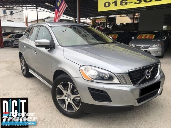 2013 VOLVO XC60 T5 PREMIUM HIGN SPEC LUXURY SUVs ONE OWNER LOW MILEAGE LIKE NEW CAR CONDITION