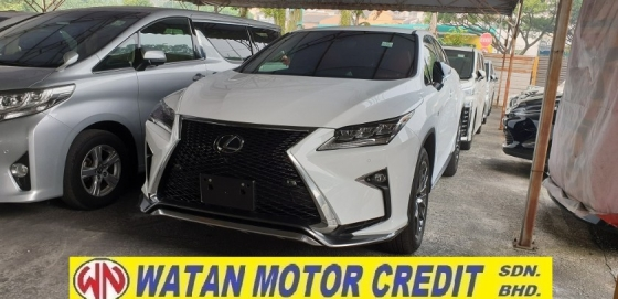 2017 LEXUS RX 200T F SPORT JAPAN SPEC NO HIDDEN CHARGES