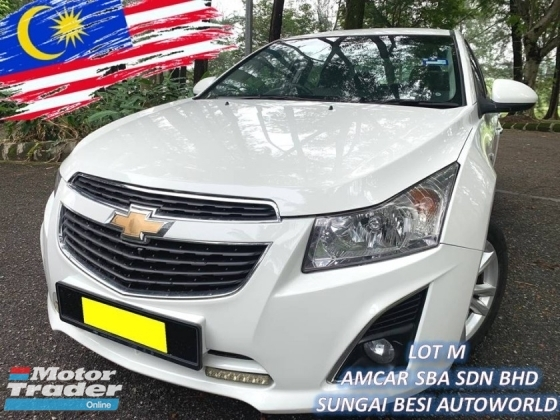 2013 CHEVROLET CRUZE 1.8 LT SPORT (A) NEW FACELIFT PUSH START