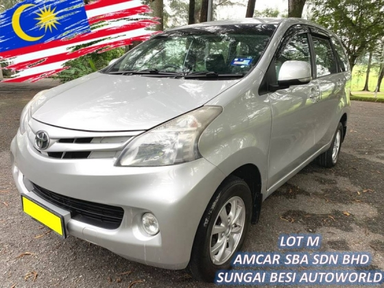 2012 TOYOTA AVANZA 1.5 (A) NEW FACELIFT 1 OWNER SALE