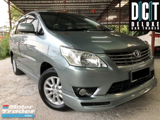 2015 TOYOTA INNOVA 2.0G (A) FACELIFT G FULL SPEC DIGITAL CLIMATE CONTROL WALNUT WOOD INTERIOR DESIGN