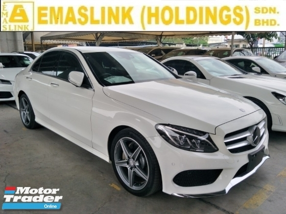 2015 MERCEDES-BENZ C-CLASS 180 AMG 1.6 TURBO POWER BOOT MEMORY LEATHER SEATS REVERSE CAMERA DAYTIME LED FREE WARRANTY