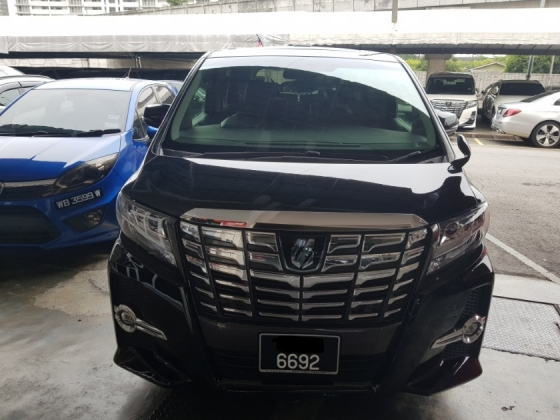 2015 TOYOTA ALPHARD 2.5 SC (A) BEST DEAL