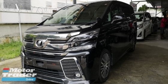 2015 TOYOTA VELLFIRE 2.5 ZG / SUNROOF / DON'T MISS OUT THIS TIME OFFER