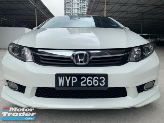 2013 HONDA CIVIC 1.8S