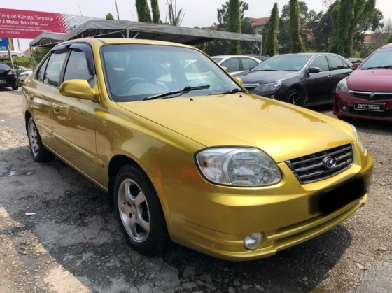 2007 HYUNDAI ACCENT 1.5 (A) TIP-TOP CONDITION CAREFUL OWNER