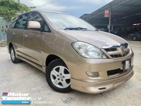 2005 TOYOTA INNOVA 2.0G (AT) MPV 7 SEAT CHEAPER SELLING