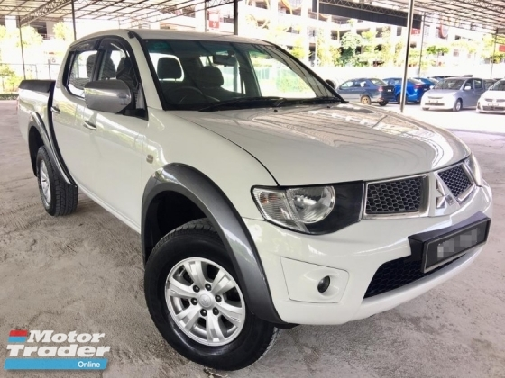 2013 MITSUBISHI TRITON 2.5 MT TURBO 4X4 DOUBLE CAB 2 YEAR WARRANTY