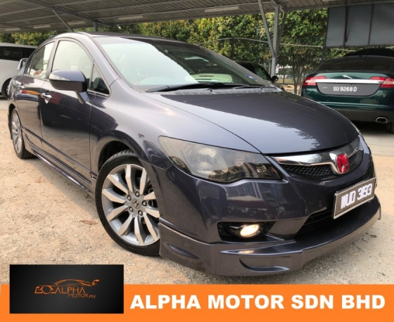 2010 HONDA CIVIC FD 2.0 (A) FACELIFT SKIITING