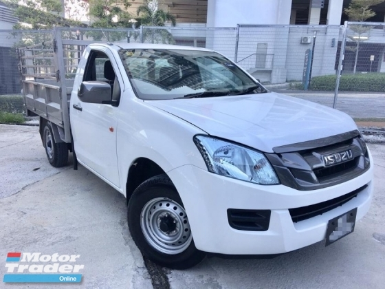 2015 ISUZU D-MAX 2.5 SIGN CAB 4x2 COMMERCIAL (MT)F2 YEAR WARRANTY
