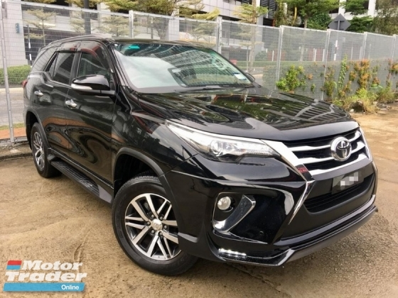 2017 TOYOTA FORTUNER 2.7 SRZ(AT )UNDER WARRANTY BY TOYOTA FULL SERVICE RECOND