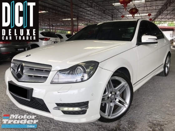 2014 MERCEDES-BENZ C-CLASS C200 1.8 (A) AMG EDITION LOCAL SPEC LEATHER SEAT LOW MILLAGE ONE MALAY OWNER GOOD CONDDITION
